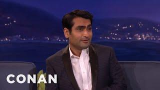 That Time Kumail Nanjiani Crapped His Pants  - CONAN on TBS