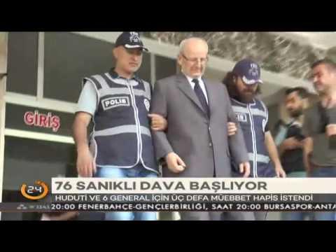 Darbeci general Akın Öztürk üçer defa ağırlaştırılmış müebbet hapis cezası!