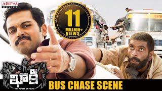 Khakee Movie Scenes   Bus Chase Scene   Karthi, Rakul Preet   H.Vinoth