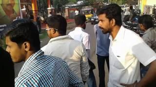 Sivanthipuram vijay fans mass entry in ambai balaji cinemas