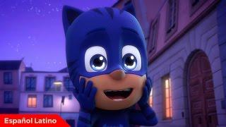 Pj Masks heroes en pijamas español latino episodio 7 y 8 W/ completos de Disney junior