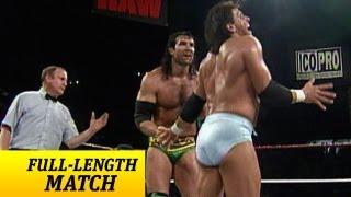 FULL-LENGTH MATCH - Raw - Razor Ramon vs. Rick Martel - Intercontinental Championship Match