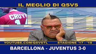 QSVS -  I GOL DI BARCELLONA - JUVENTUS 3-0 TELELOMBARDIA / TOP CALCIO 24