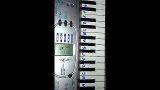 Baarish Simple piano tutorial    Half Girlfriend    For Piano,Keyboard and Mobile