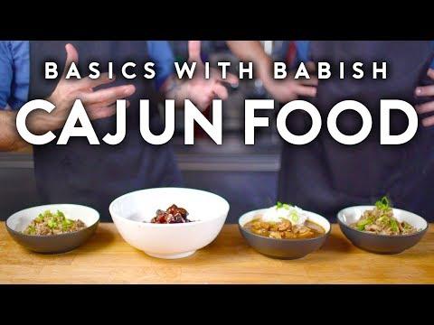 Cajun Food Basics with Babish feat. Isaac Toups