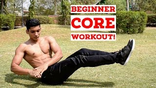 Beginner Core Workout At Home