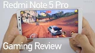 Redmi Note 5 Pro Gaming Review with Temp Check