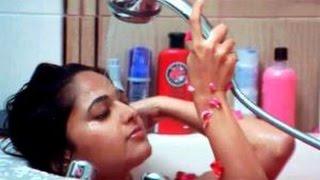 Anushka's Nude Bathing Video Leaked