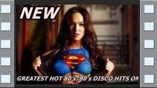 THE GREATEST 80's/90's RETRO DISCO HITS ON MIX - 2017