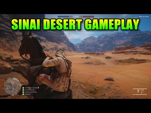 watch Battlefield 1 - Sinai Desert 1 Hour Raw Gameplay - New Guns!
