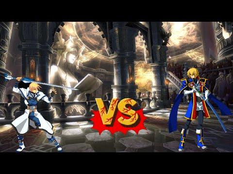 BlazBlue vs. Guilty Gear Jin Kisaragi vs. Ky Kiske