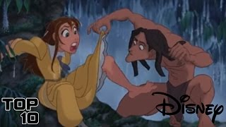 Top 10 Shocking Disney Moments
