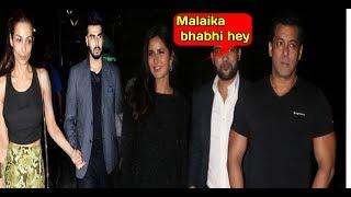 Salman Khan and Katrina Kaif Party together  IGNORES ENEMIES