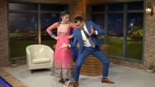 Sina and Rahil perfoming an Indian Dance!/!چندشنبه – رقص هندی سینا و راحیل