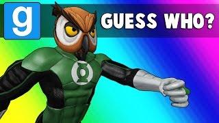 Gmod Guess Who: Superhero Edition - Sudoku! (Garry's Mod Funny Moments)