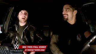 Don't try to talk Roman Reigns and Dean Ambrose out of a hot tub: WWE Ride Along