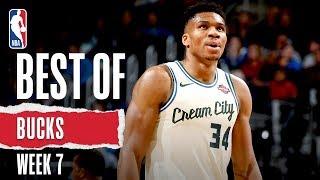 Bucks FULL HIGHLIGHTS | Week 7 | 2019-20 NBA Season