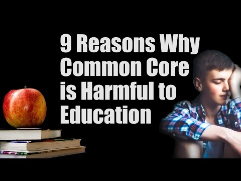 Reasons Why Common Core is Bad for Education Fight Back
