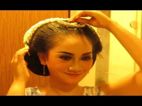 [TUTORIAL] Tips Cara SANGGUL JAWA Tanpa Sasak Rambut - Javanese Hair Style [HD]