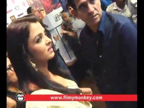 OMG!! Aishwarya  loses temper When asked about Salman Khan
