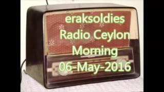 Radio Ceylon 06-05-2016~Friday Morning~03 Purani filmon Ka Sangeet