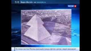 Египетские пирамиды увидели снег впервые за сто лет