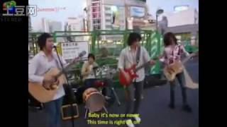 Now or Never - CN Blue's Street Performance @ Japan.mp4