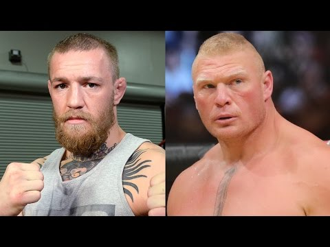 Conor McGregor Calls Out Brock Lesnar & Calls The Rest of WWE P ssies