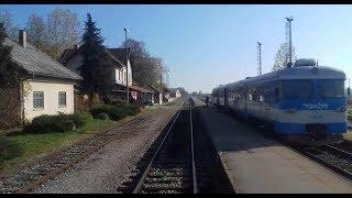 Koprivnica  Kloštar Cab Ride//Vožnja vlakom do Kloštra