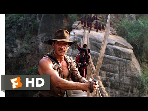 Xxx Mp4 Indiana Jones And The Temple Of Doom 9 10 Movie CLIP The Rope Bridge 1984 HD 3gp Sex