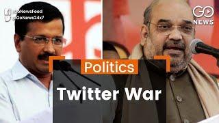 Kejriwal-Shah Twitter War