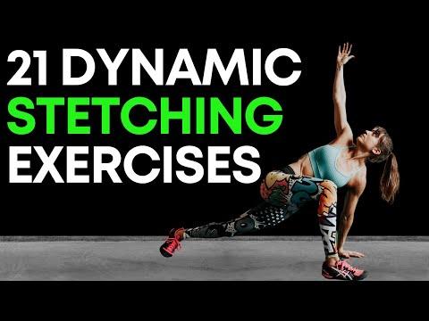 21 Dynamic Stretching Warm Up Exercises