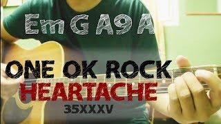 ONE OK ROCK Heartache Guitar Tutorial