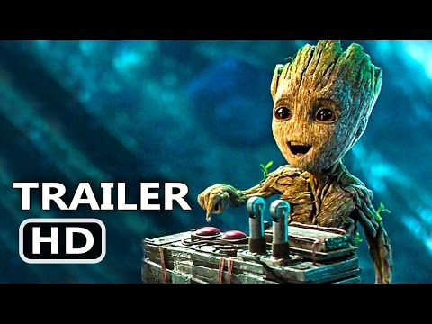 BABY GROOT Button Clip Guardians of the Galaxy 2