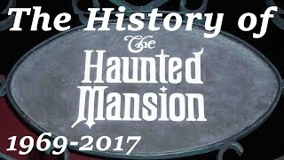The History of & Changes to The Haunted Mansion | Disneyland