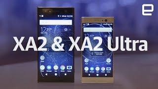Sony Xperia XA2 and XA2 Ultra hands-on at CES 2018