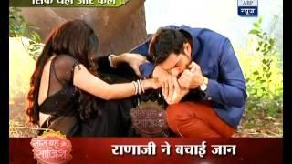 Rana ji saves Gayatri after snake bites her