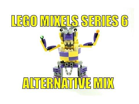 Lego Mixels Series 6 Vaka Waka Forx Alternative Mix Vorx