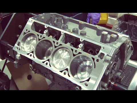 Chevrolet Corvette V8 Engine Assembly