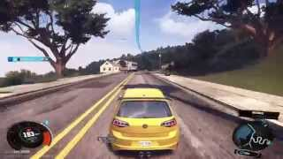 The Crew [Beta 2] VW Golf GTI I LA-San Francisco I PS4