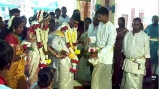 (3) Indian Wedding - brides feet adornment & bucket dip.