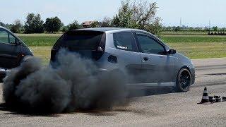 Drag races w/ turbo DIESEL POWER!!!!