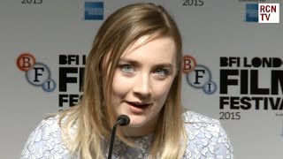 Saoirse Ronan Interview - Awesome Julie Walters
