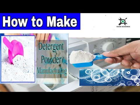 How to Make Washing Powder for Home Surf Formula