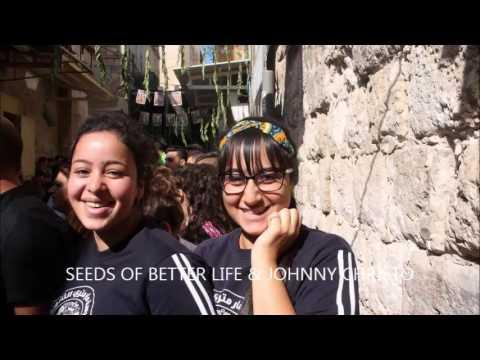 CHRISTIAN ARAB VIRGIN MARY CELEBRATION 5-9-2016 VIDEO CLIP BY JOHNNY CHRISTO