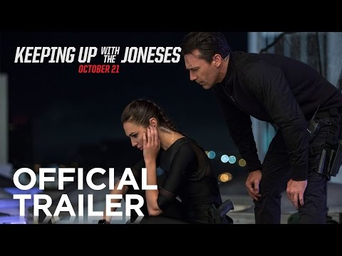 Keeping Up With the Joneses Official Trailer HD 20th Century FOX
