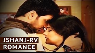 Ranveer and Ishani's Romance.  From the sets of Meri Ashiqui Tumse Hi