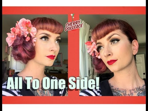 Xxx Mp4 Vintage Styles With Bangs All To One Side By CHERRY DOLLFACE 3gp Sex