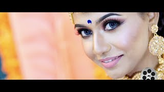 Beautiful Ceylonese Wedding Highlight Of Haridaran & Vithya  By Golden Dreams Gdu