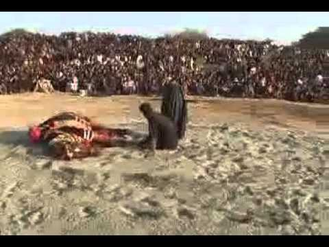 zuljinah baramdagi on10th muharam 1433 2011 PAKISTAN